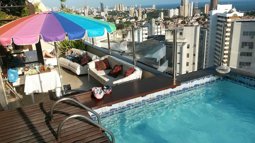 Duplex Penthouse for Couple or Executives in Salvador - SSA001