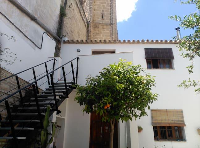 Loft junto iglesia siglo XIV centro - Jerez de la Frontera - Loft