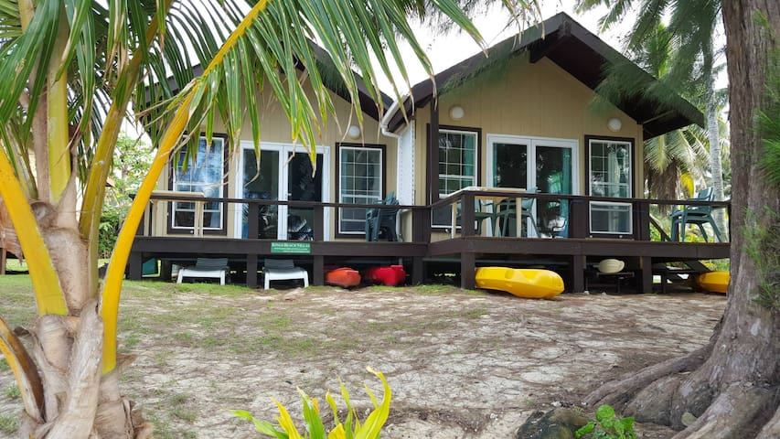 Kings Beach Villas - Ngatangiia District - Villa
