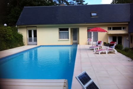Room in the forest and swimmingpool - Oncy-sur-École