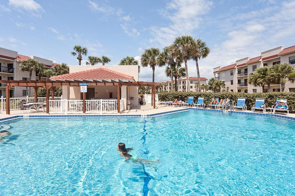 Welcome to Ocean Village I14 ! - Once you arrive at this beautiful condo, you may never want to leave!