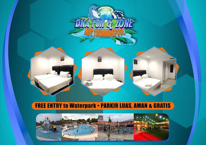 Classy Room at Dna Fun Zone Pekanbaru
