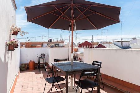 Último piso con terraza en Ruzafa - València - 公寓