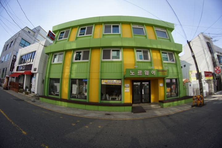MokpoNorwayGuesthouse(4인실) - Honam-ro 64beon-gil, Mokpo-si - Chambre d'hôtes