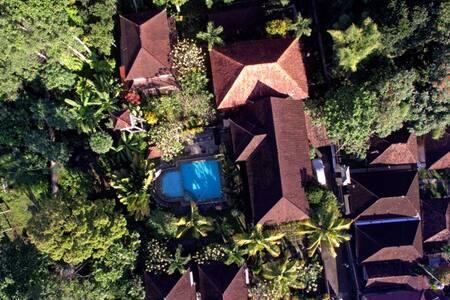 Bali, havre de paix dans village historique. - Blahbatuh