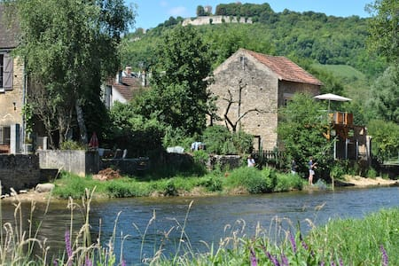 maisonnette au bord de l'eau près de Vézelay (89) - Daire