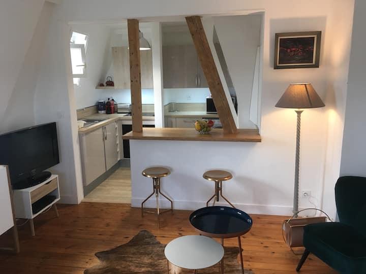 Bel appartement au cœur de Deauville.