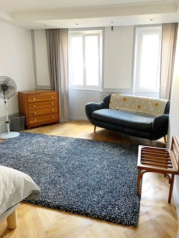 Charming & tranquil 2 BR in the heart of Besançon