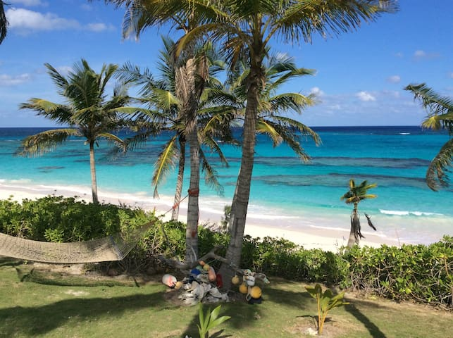 Da Villa Ocean Front Home on Pink Sand Beach