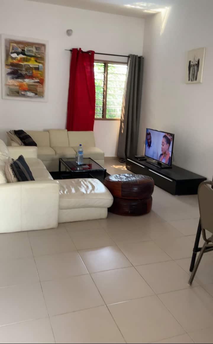 Appartement spacieux,zone balnéaire, confortable