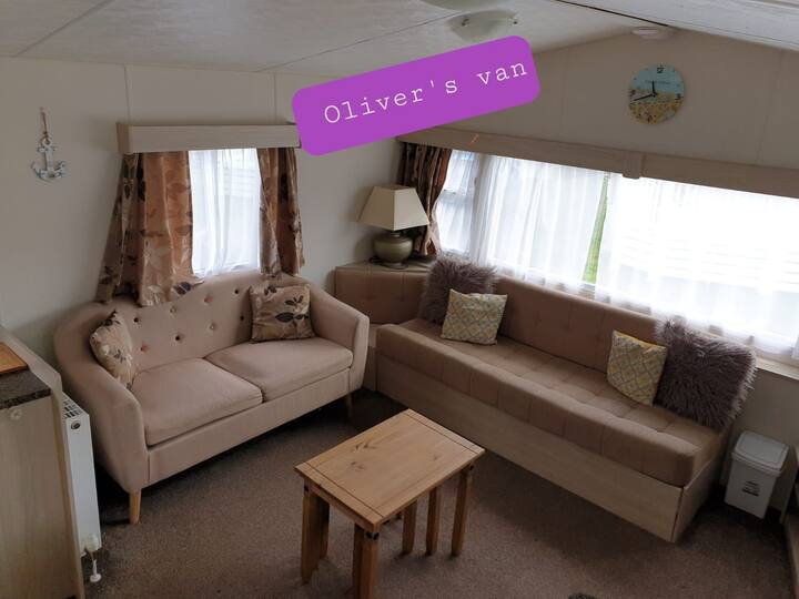 Lovely warm and cosy caravan in Dawlish Warren