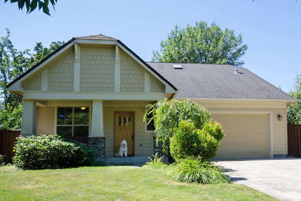 You'll love our charming arts & crafts home in a delightful, quiet neighborhood.