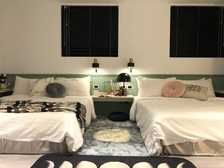 SUNSUN INN |Suite B|TPE CityHall MRT|101|4PPL