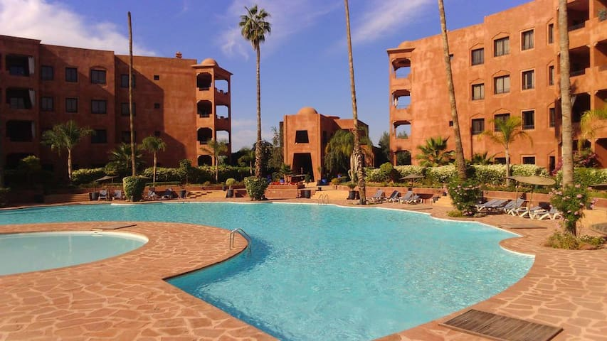 2Bedroom Palmeraie with 2pools, gym,views and more - Marrakesh - Apartment