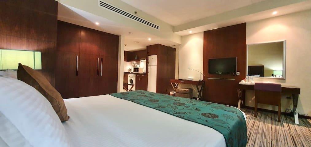 Spacious Studio Apartments on Abu Dhabi Island