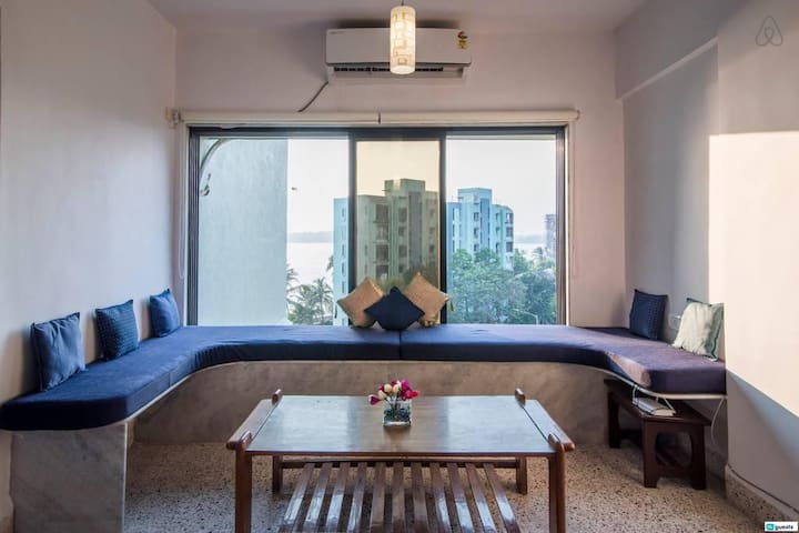 Fantastic 1BR with Sprawling Seaview in Versova!