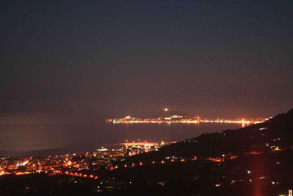 the view by night