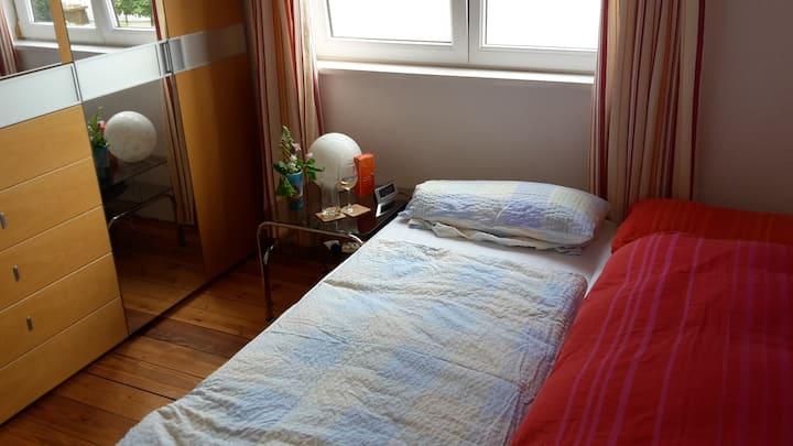 Gemütliches Zimmer, gut zum Übernachten