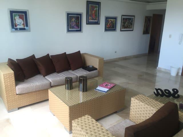 Apartment Luxury Ocean/Nat View NEW Anacaona Tower - Santo Domingo - Condominium