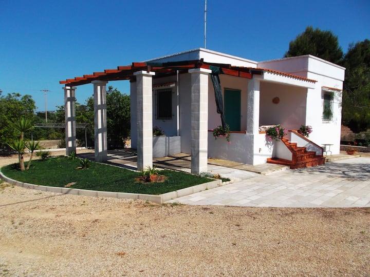Villa nella riserva di TORRE GUACETO