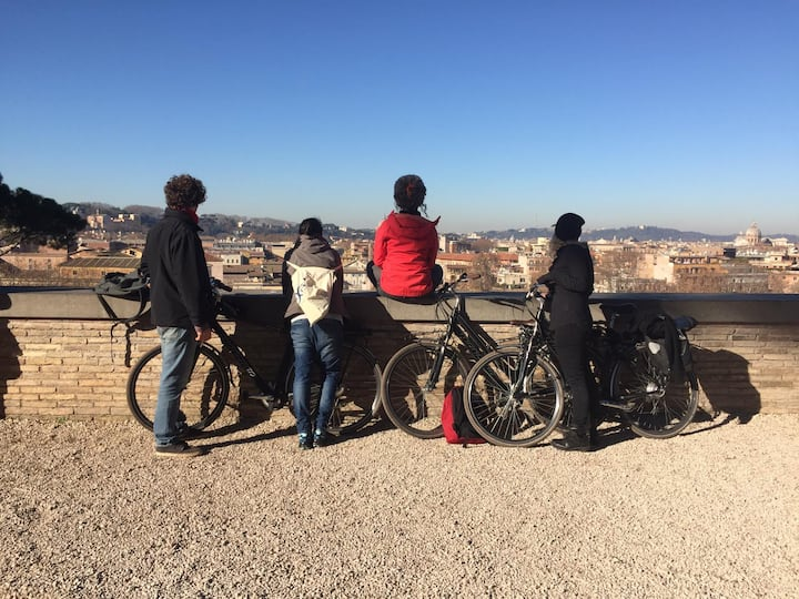 On the top of Aventino hill