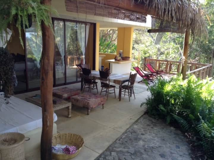 Casa Selva. Private beach