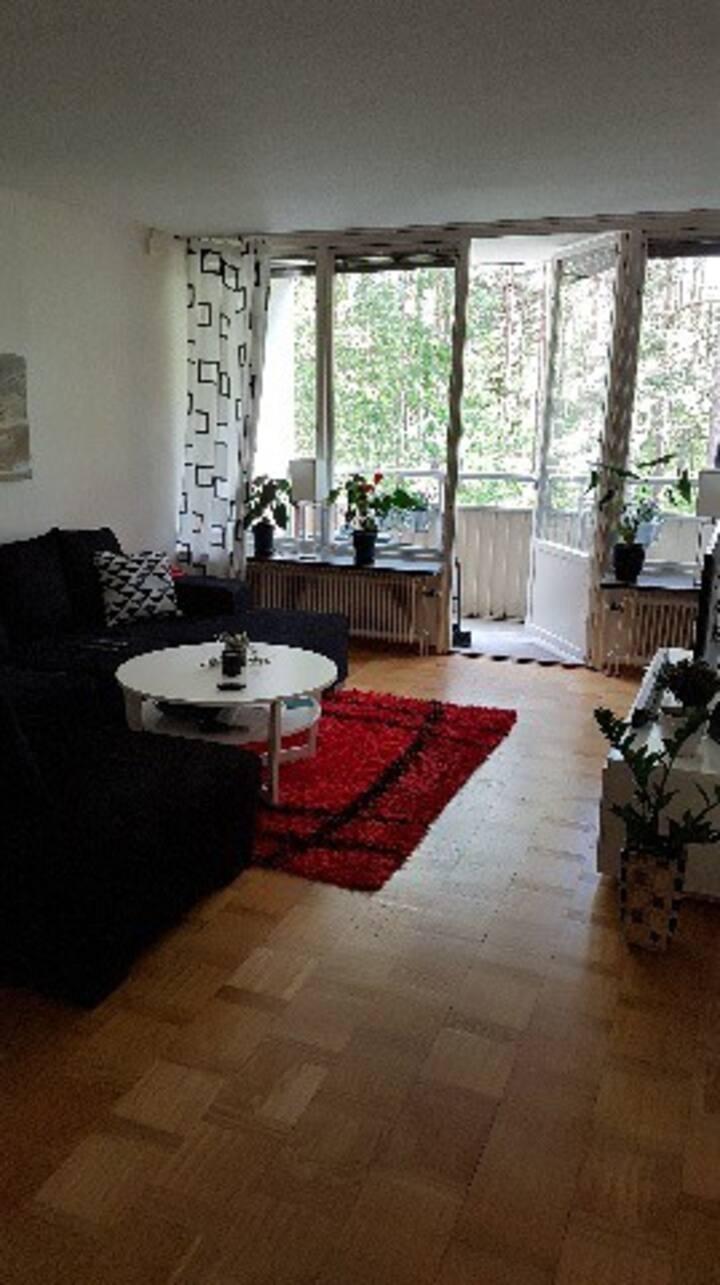 Lägenhet under IRONMAN 10 min från start!