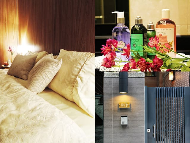 高雄設計感套房 高檔傢俱 頂級備品 近捷運站、展覽館、夢時代、六合夜市