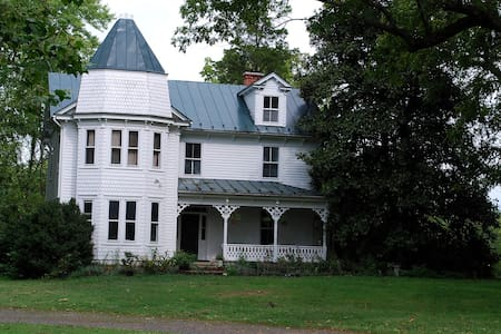 Victorian 5BR Farmhouse 1hr-DC! - Marshall - Huis