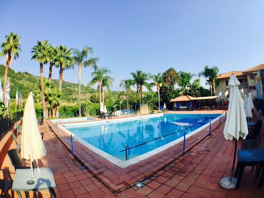Residential pool (from 15 June to 8 September)