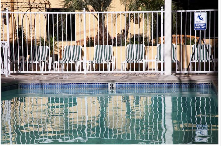 Enjoy and relax at the pool.