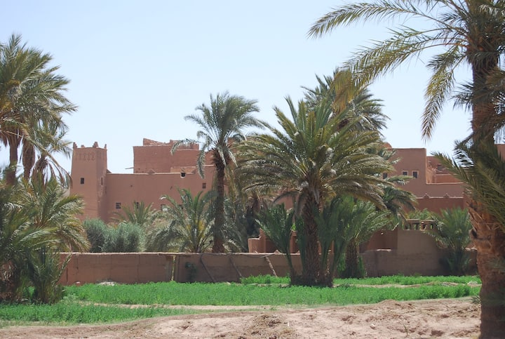 Bereber traditional house in a Ksar