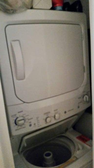 Washer and dryer in the apartment