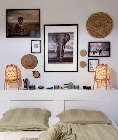 Cozy African Apartment.