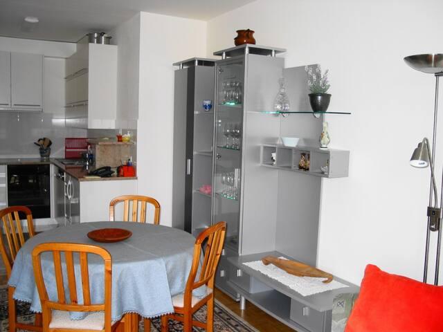 Wohnzimmer in Richtung Küche