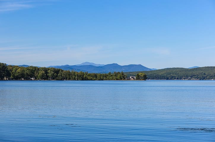Lakefront home with 100 feet of sandy beach on Ossipee Lake!
