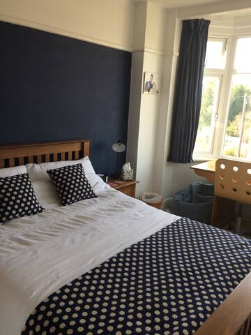 Large bright first floor double room - Salisbury - Bed & Breakfast