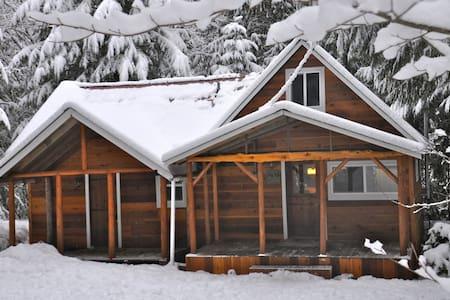 Bob's Cozy Cabin - Riverfront  - Greenwater
