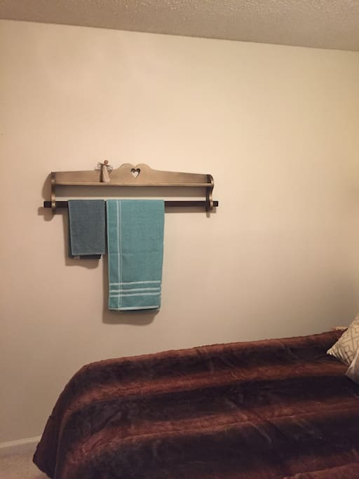 The other side with a fresh towels awaiting your stay