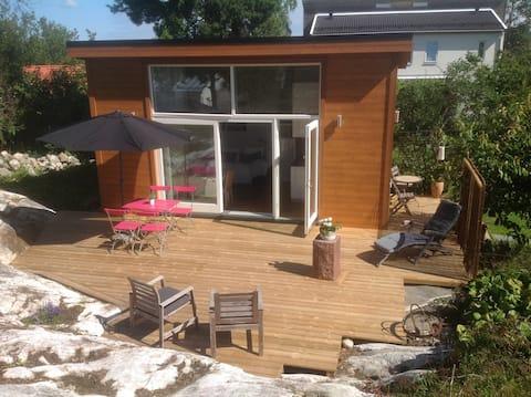 Unique new built house, near beach/natur & city.