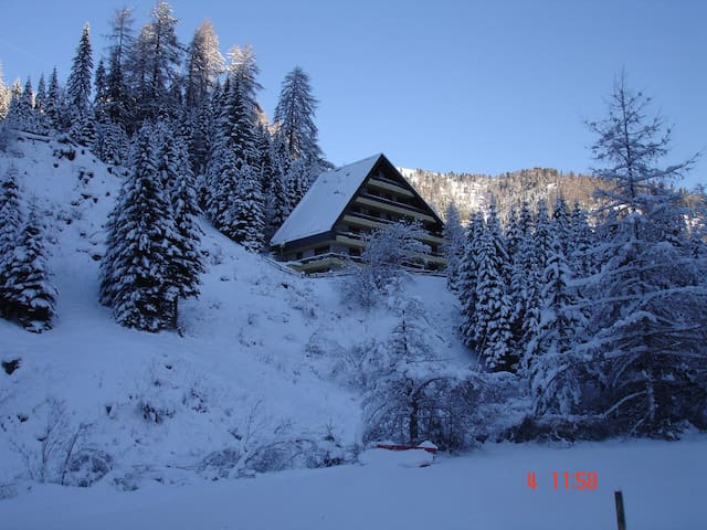 Alpine Style Apartment at 1550 m for 5 persons