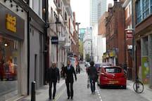 Mercer Street to Seven Dials, Covent Garden