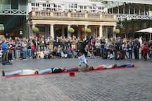Street Entertainment Covent Garden Piazza