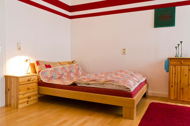 Come in, enjoy your stay in Germany - Karlsruhe - Oda + Kahvaltı