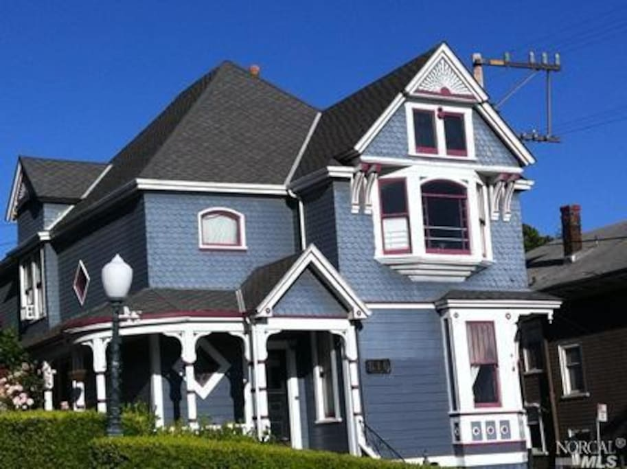 The 1890 spindle-style Queen Ann is a jewel of the neighborhood.
