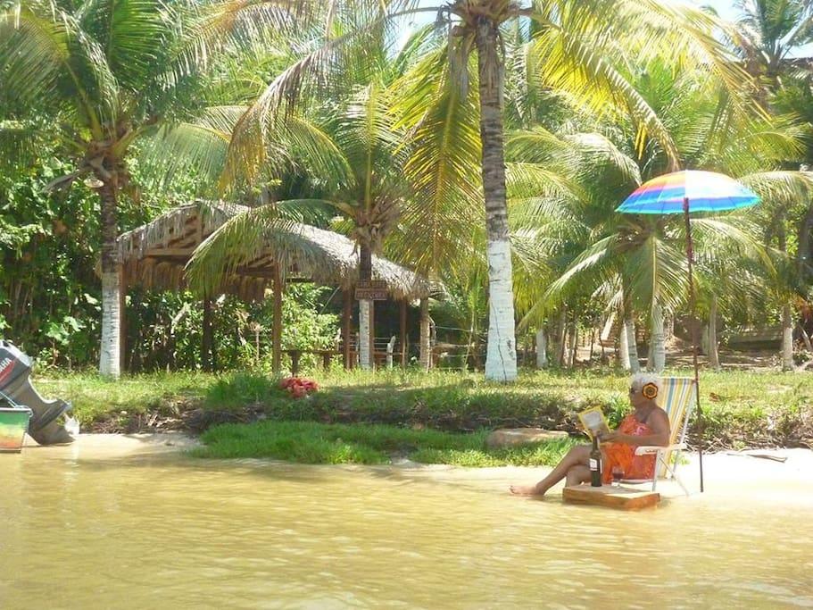 Nossa praia fluvial