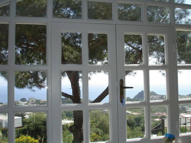 Porzione di Villa vista Mare - Sant'Angelo - Leilighet