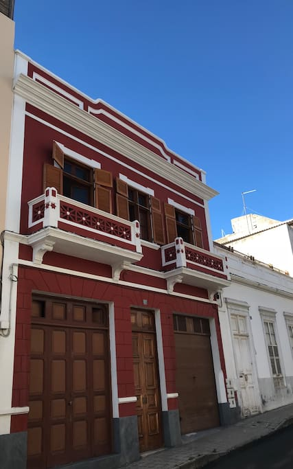 The house built in the 19th century and it was recently renovated
