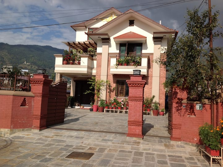 Beautiful Home with scenic beauty of Kathmandu