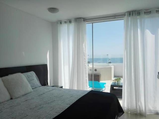 Suite - Habitaciones de Lujo frente al mar.